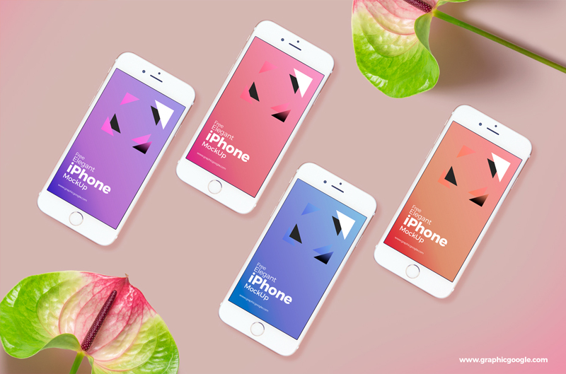Elegant-iPhone-Mockup-For-UI-Presentation