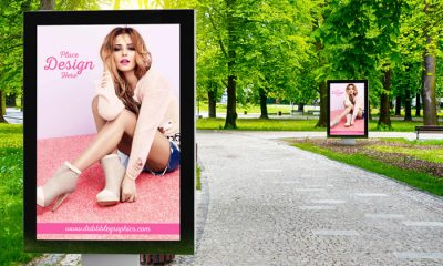 Free-Outdoor-in-Park-Advertisement-Billboard-mockup