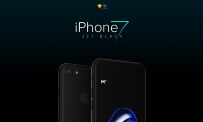 Free-iPhone-7-Jet-Black-Mockup-PSD