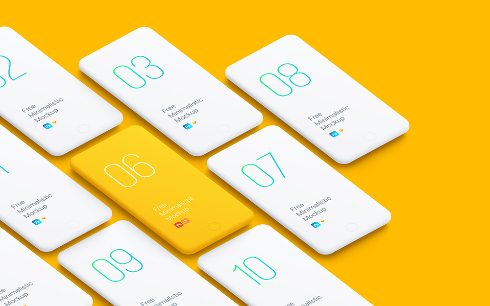 Minimalistic-Phone-Mockups-for-Your-Presentations-2