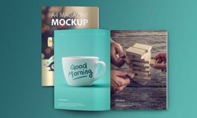 Set-of-A4-Magazine-Mockups