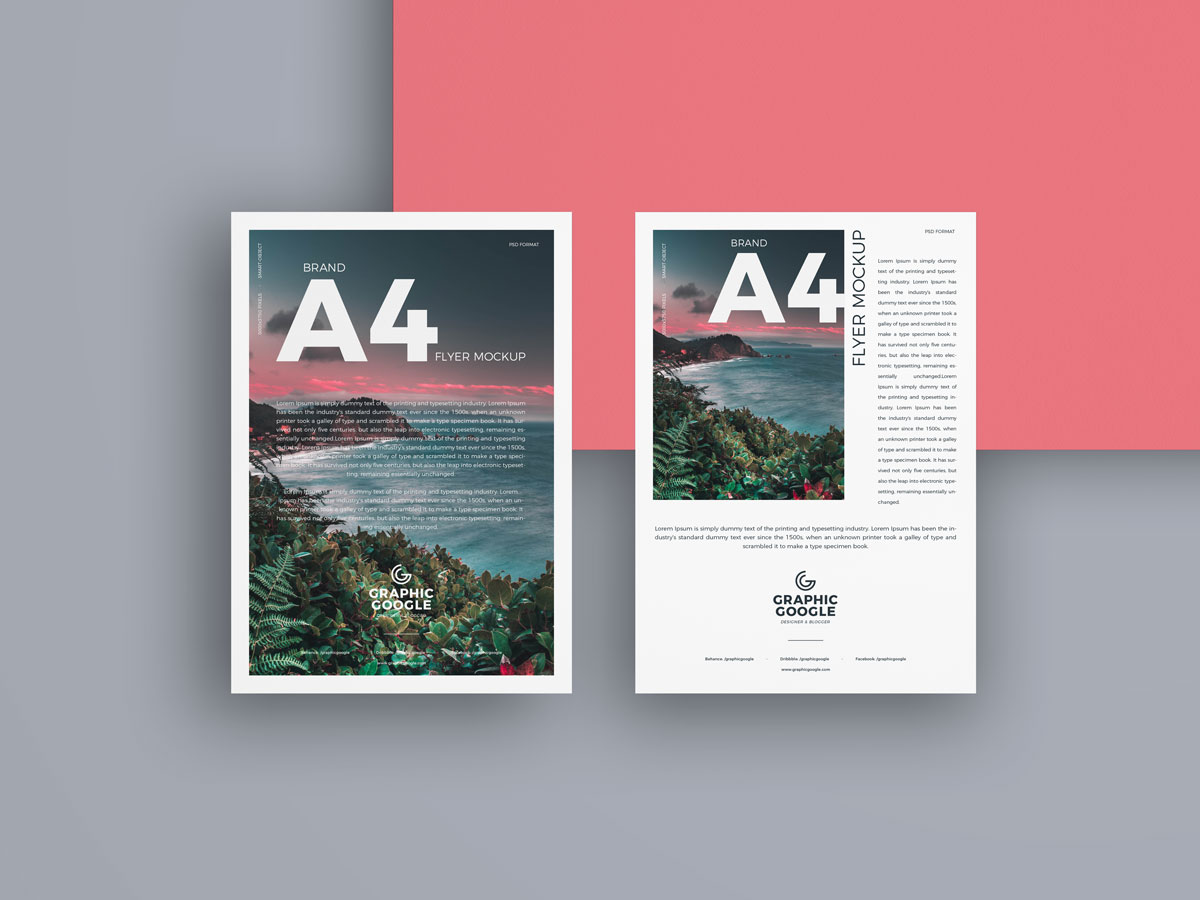 Free-A4-Paper-Mockup-For-Branding-of-Flyers-&-Letter-Heads-1