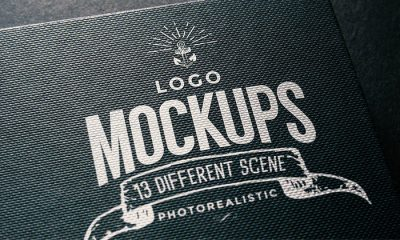 Photorealistic-Embossed-Logo-Mockup-with-Shinning-Effect
