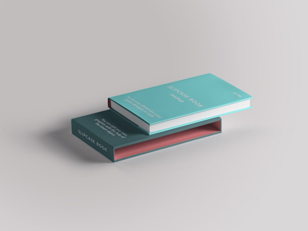 Slipcase-Book-with-Book-Mockup