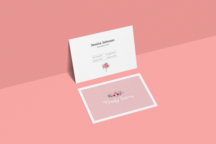 Free-Elegant-Business-Card-Mockup