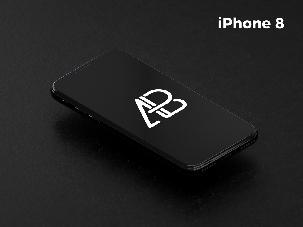 Free-Floating-Isometric-iPhone-8-Mockup
