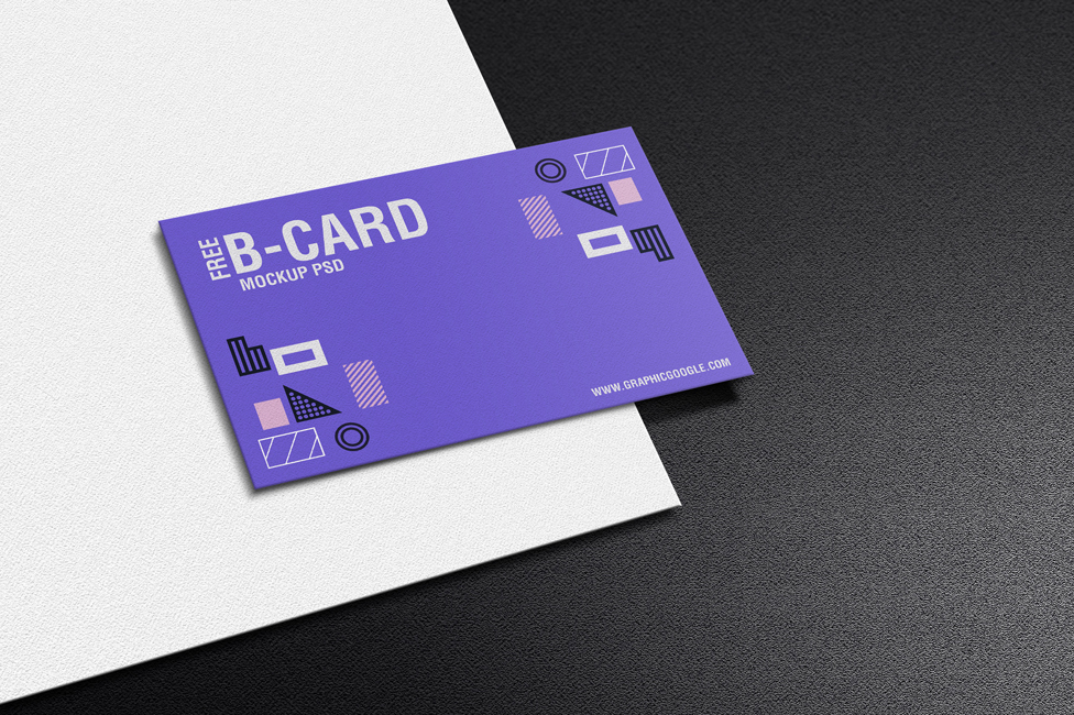 Free-Texture-Paper-Business-Card-Mockup