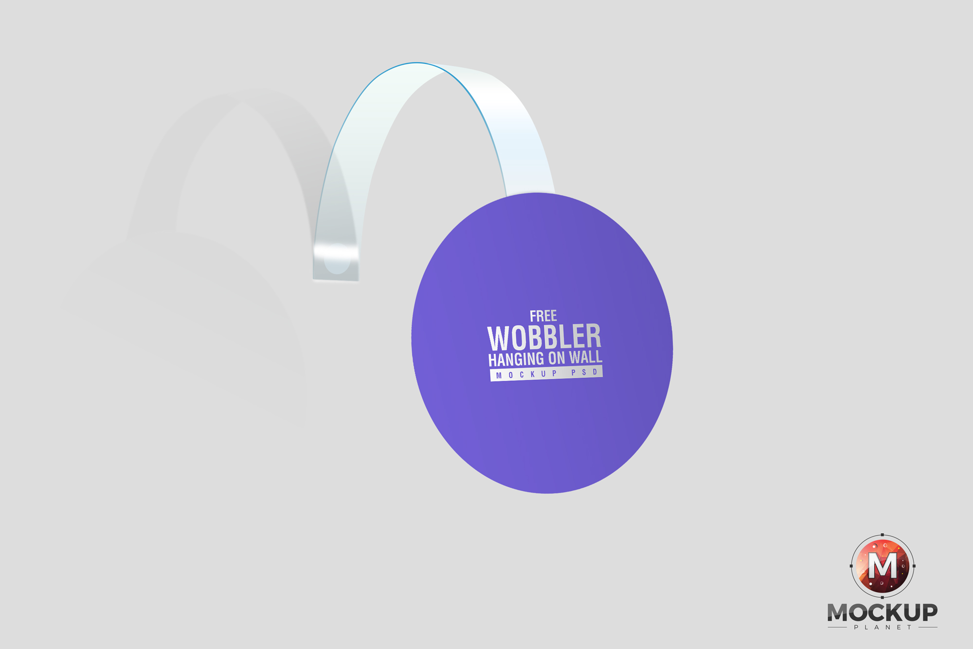 Free-Wobbler-Hanging-on-Wall-Mockup-PSD
