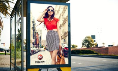 Outdoor-Bus-Stop-Billboard-Mockup-For-Advertisement