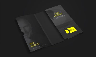Folder-with-Business-Card-Mockup-PSD