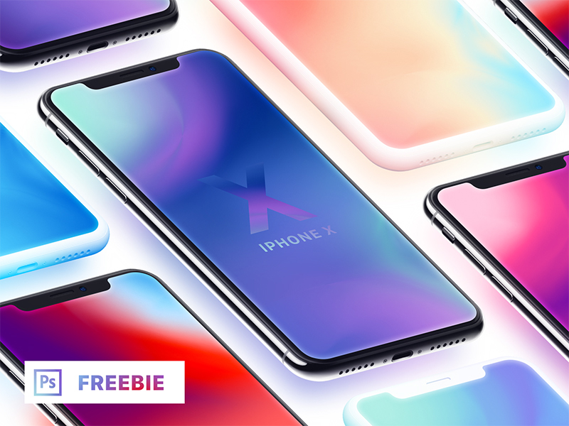iPhone-X-Isometric-Mockups-Freebie