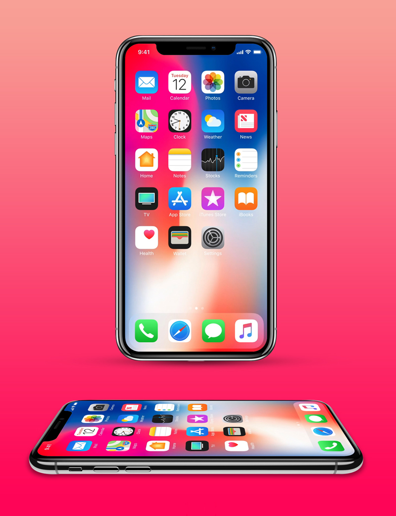 iPhone-X-Mockups-Including-2-Angles-Freebie