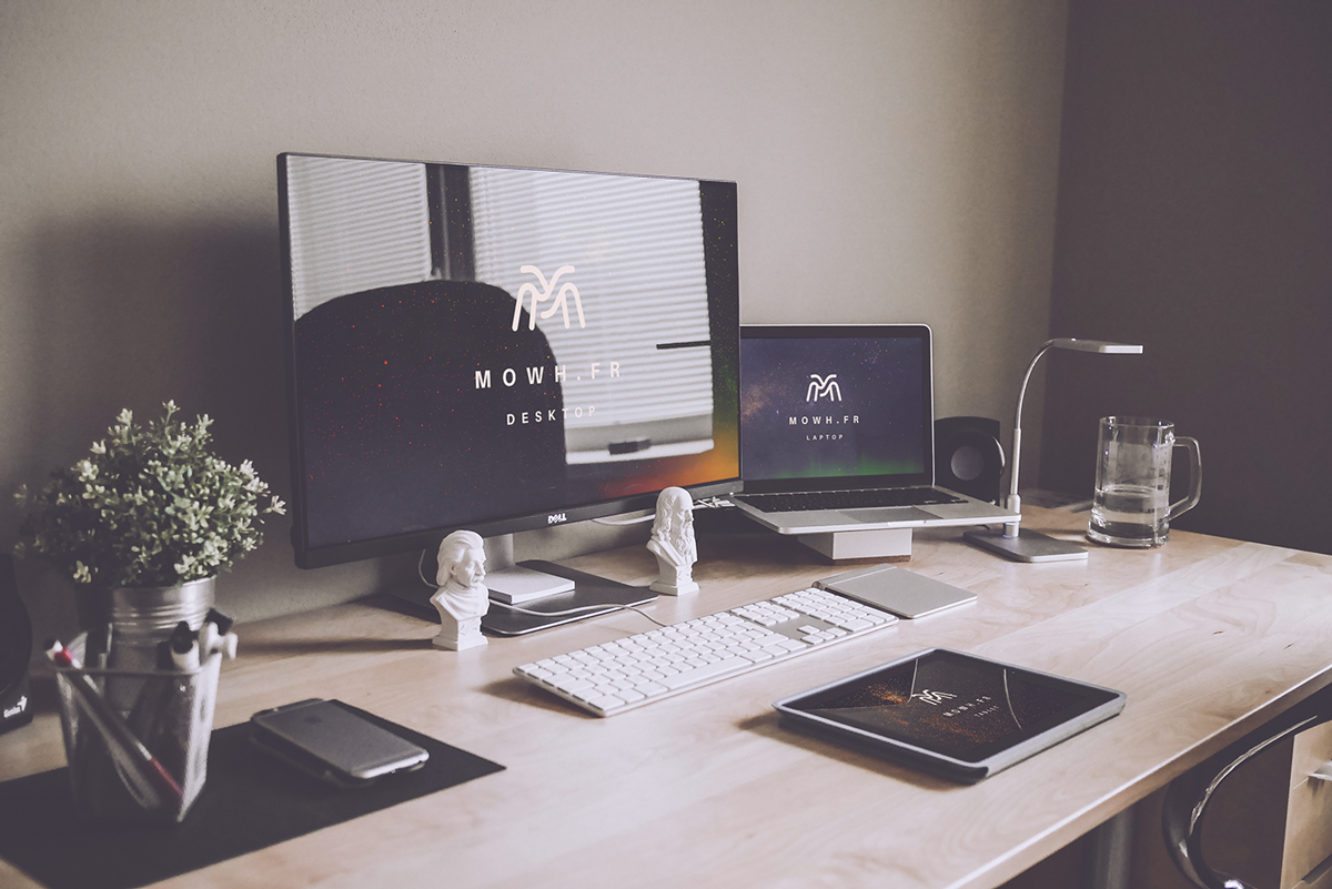Free-Dell-Monitor,-Macbook-&-iPad-Devices-Mockups