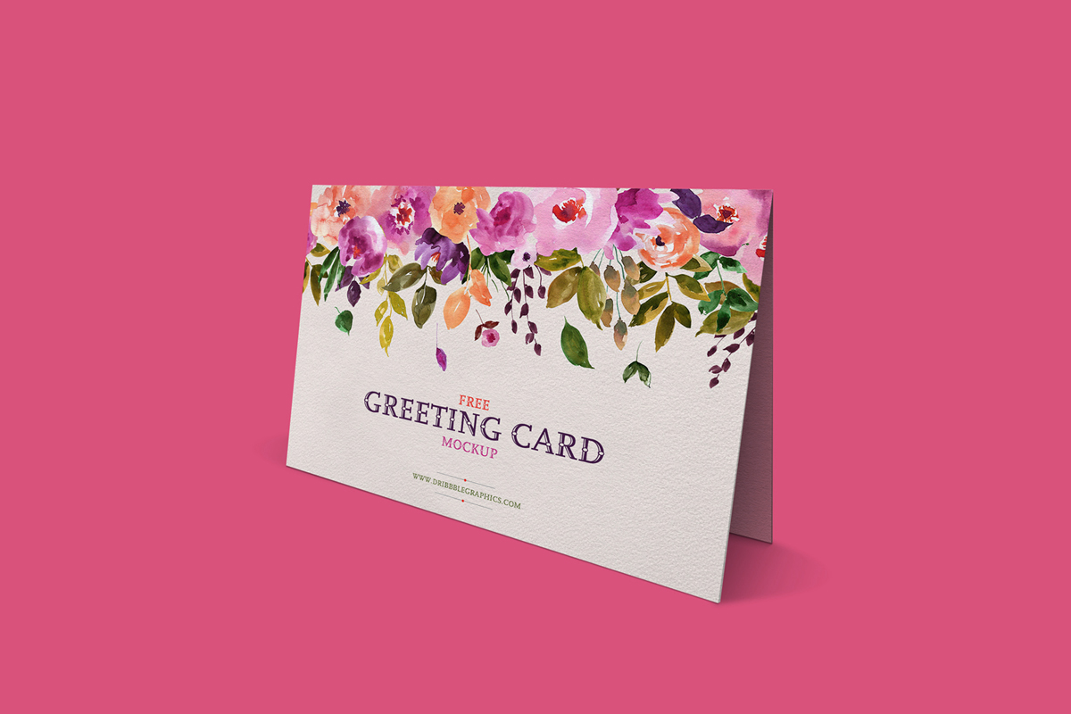 Free-Lovely-Greeting-Card-Mockup