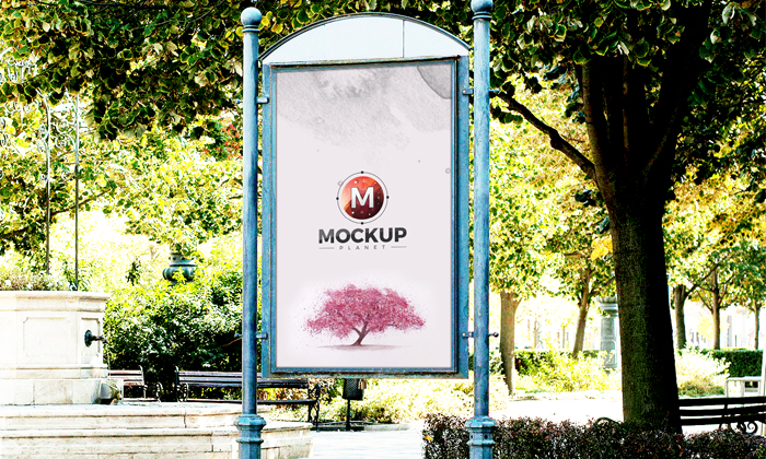 Free-Artistic-Outdoor-Poster-Billboard-Psd-Mockup