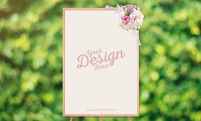 Free-Wedding-Ceremony-Frame-Stand-Mockup