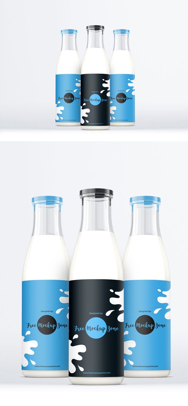 Free-Glass-Milk-Bottle-Mockup-2018-For-Milk-Packaging-Designs-Presentation