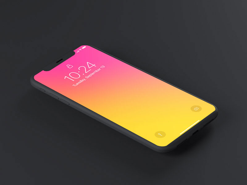 Free-Dark-iPhone-x-PSD-Mockup-600