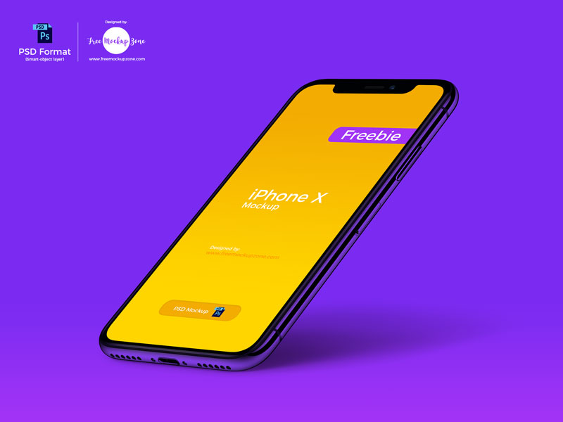 Free-Perspective-iPhone-X-Mockup-600