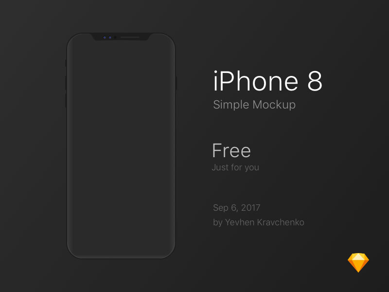 Free-Simple-iPhone-8-Mockup-PSD-600