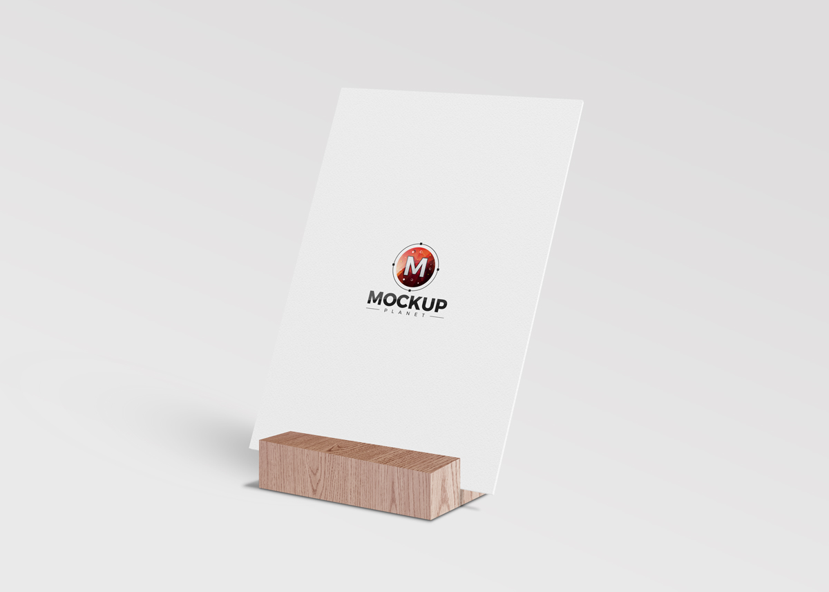 Free-Wooden-Stand-Perspective-View-Poster-Mockup-by-Mockup-Planet