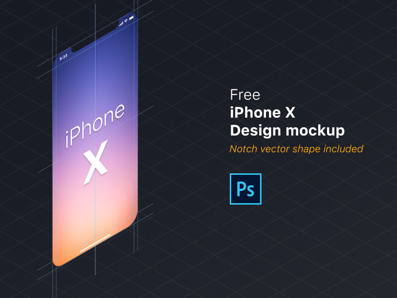 PSD-iPhone-X-Design-Mockup-Free-600