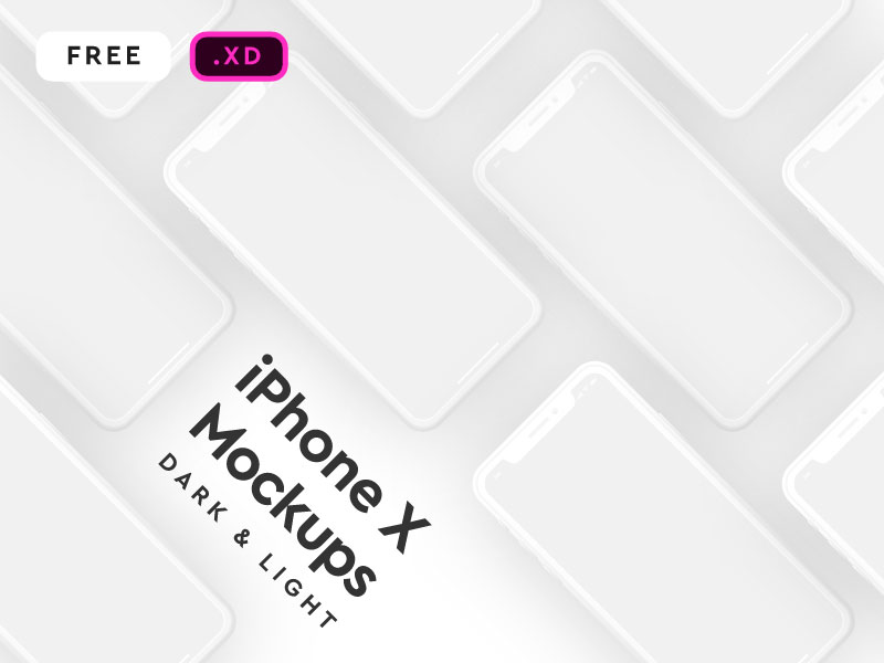 iPhone-X-Mockup-for-XD-Free-PSD