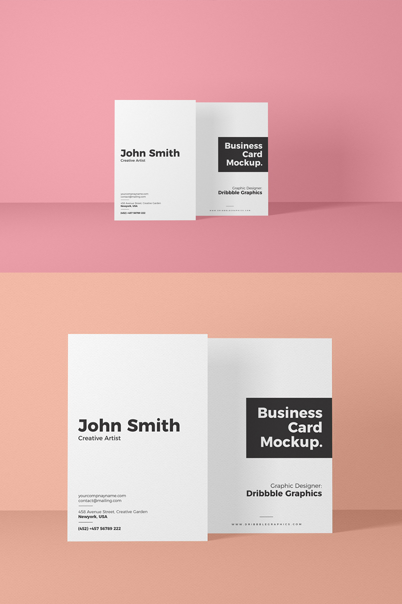 Free-Brand-Standing-Business-Card-Mockup-PSD-2018
