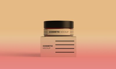 Free-Cosmetic-Jar-With-Box-Packaging-Mockup-PSD-2018