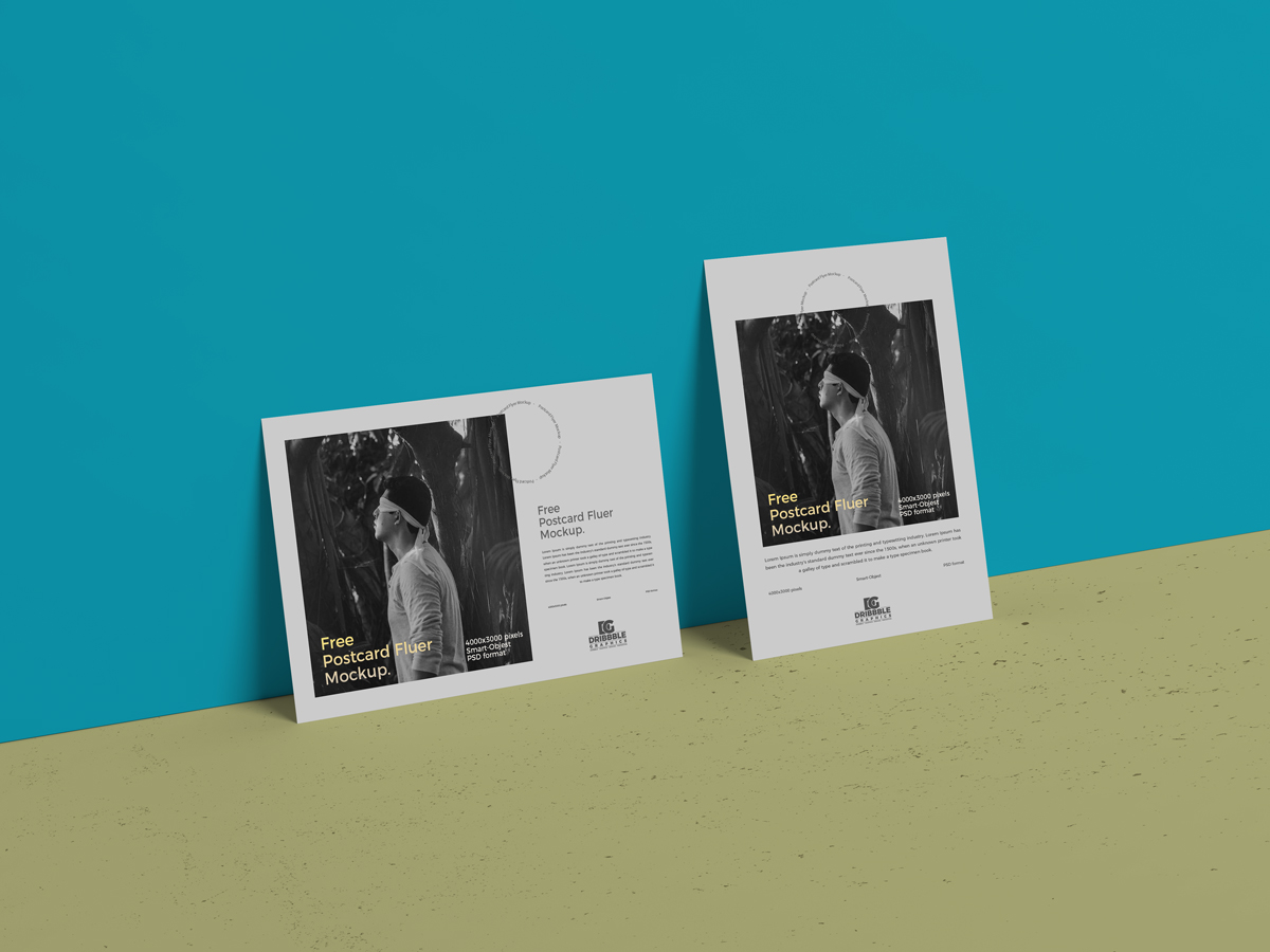 Free-Stylish-Branding-Flyers-Mockup-PSD-For-Presentation-2018