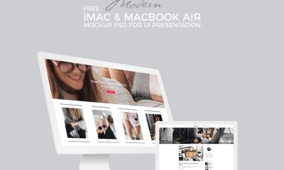 Free-iMac-With-MacBook-Air-Mockup-PSD-For-Screens-Presentation