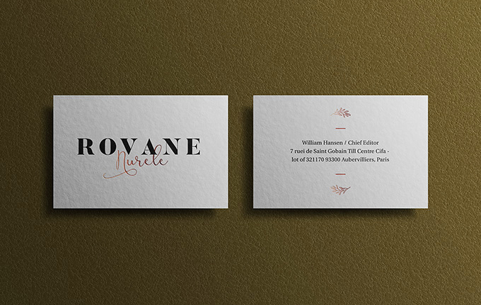 Free-Branding-Business-Card-Mockup-With-Texture-Background-Effect