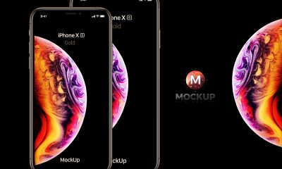 Free-Gold-iPhone-Xs-Mockup-PSD-2018