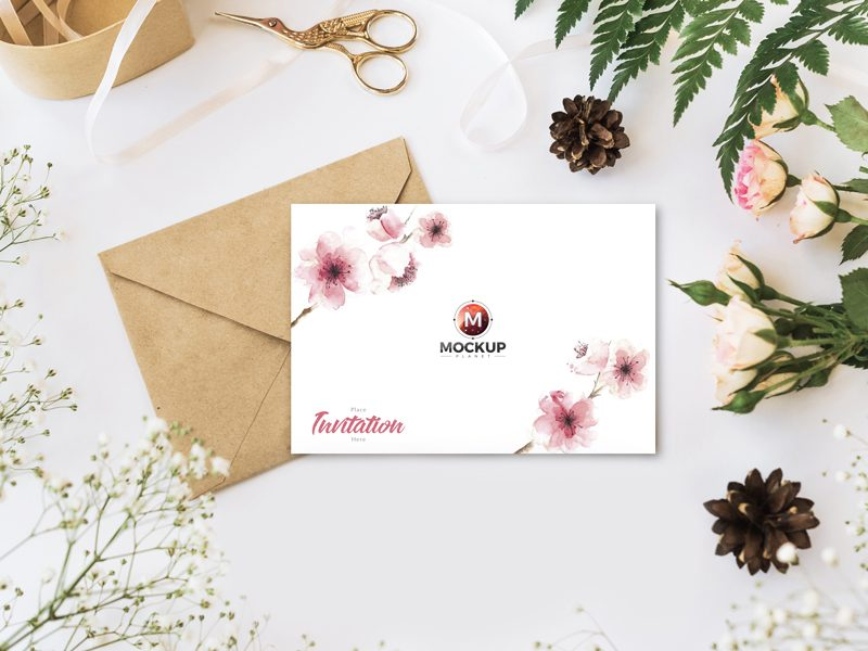 Free-Invitation-Mockup-PSD-For-Wedding-Greetings