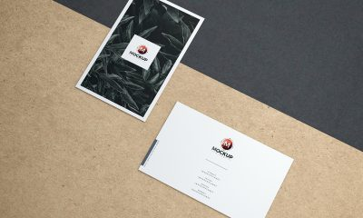 Free-Premium-Brand-Business-Card-Mockup-PSD-For-Presentation