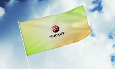 Free-Rising-in-Air-Flag-Mockup-PSD-2018