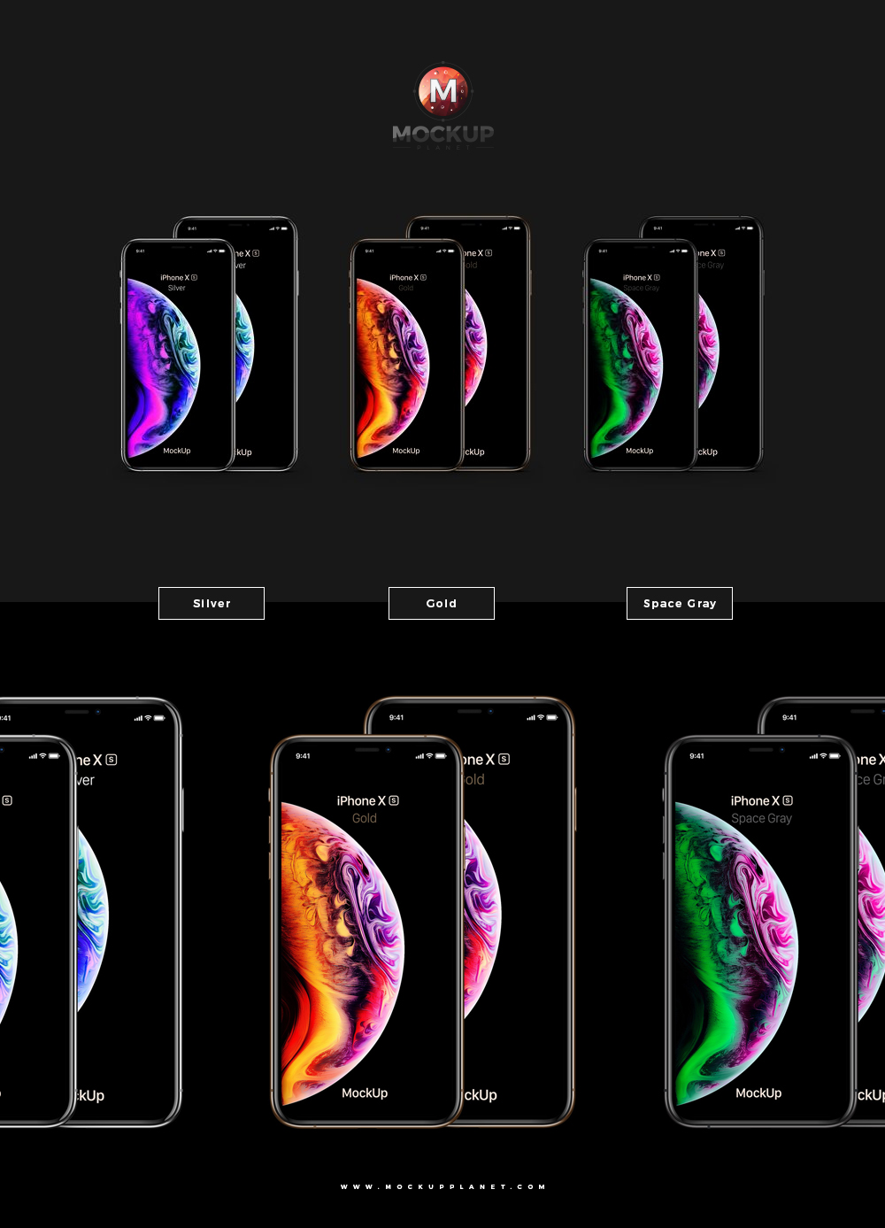 Free-Silver-Gold-Space-Gray-iPhone-Xs-Max-and-iPhone-Xs-Mockup-PSD