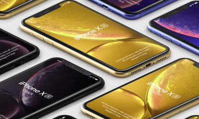 Free-Psd-iPhone-XR-Mockup-Isometric-2018