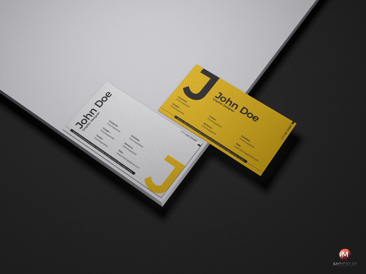 Free-Brand-Business-Cards-Mockup-PSD-Design-Vol-1