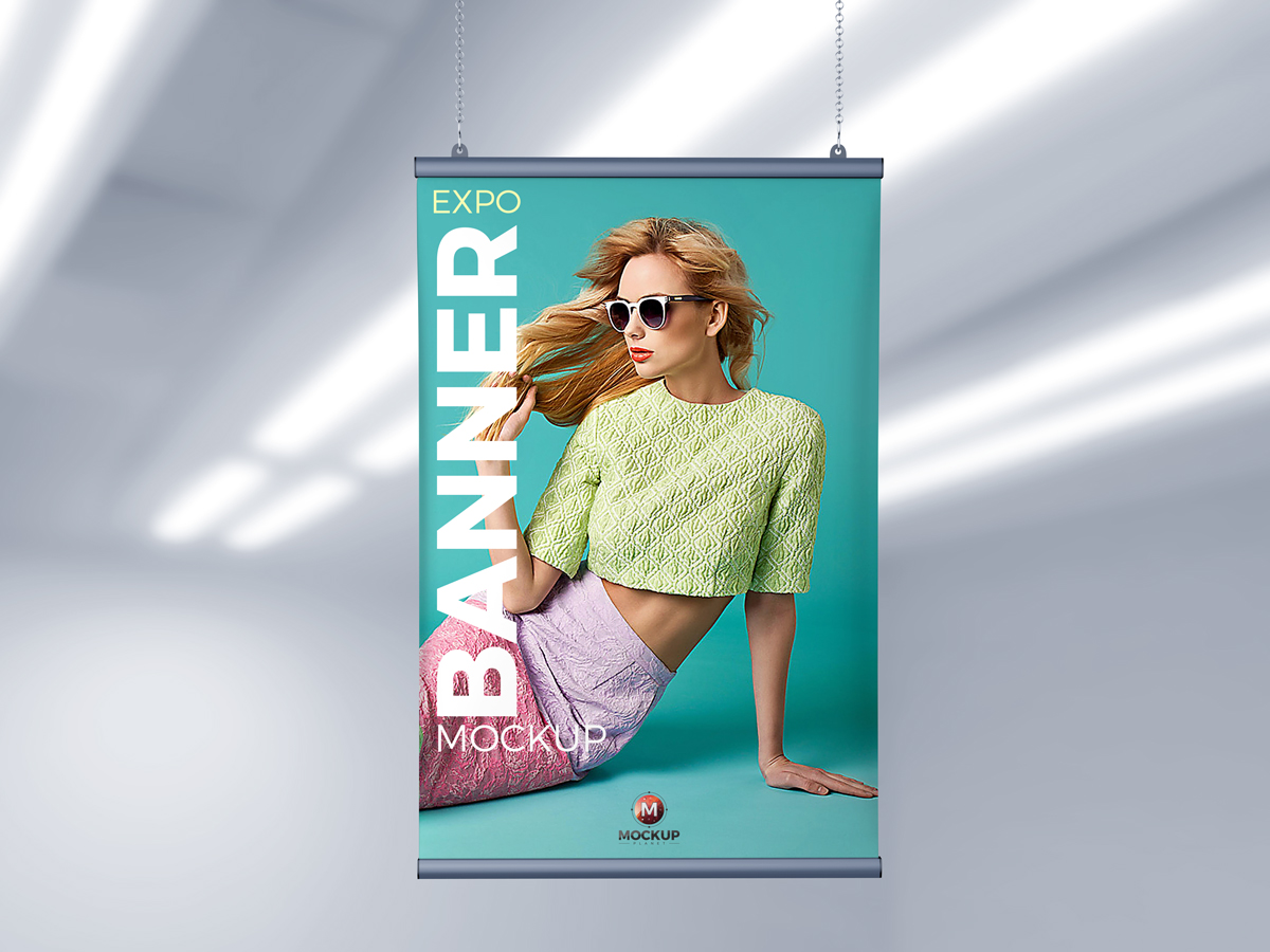 Free-Indoor-Expo-Ceiling-Banner-Mockup-PSD-For-Branding
