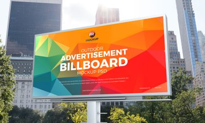 Free-Outdoor-Billboard-Mockup-PSD-For-Brand-Advertisement-2019