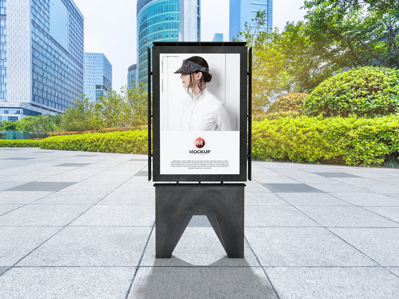 Free-Outdoor-Commercial-Advertising-Poster-Mockup-Design