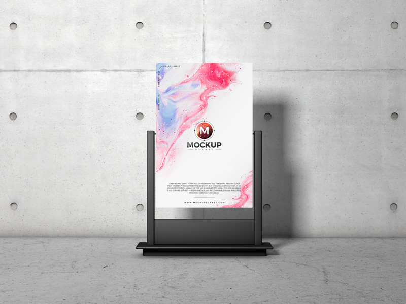 Free-Indoor-Stand-Advertising-Poster-Mockup-Design