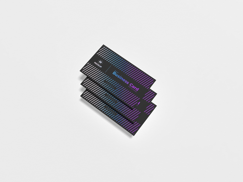 Free-PSD-Brand-Business-Card-Mockup-Design-1