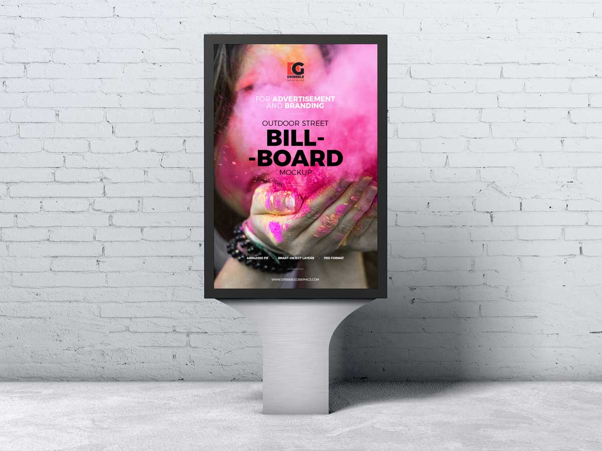Free-Street-Advertising-Billboard-Mockup