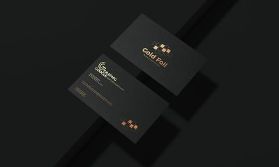 Free-Gold-Foil-Business-Card-Mockup-Design