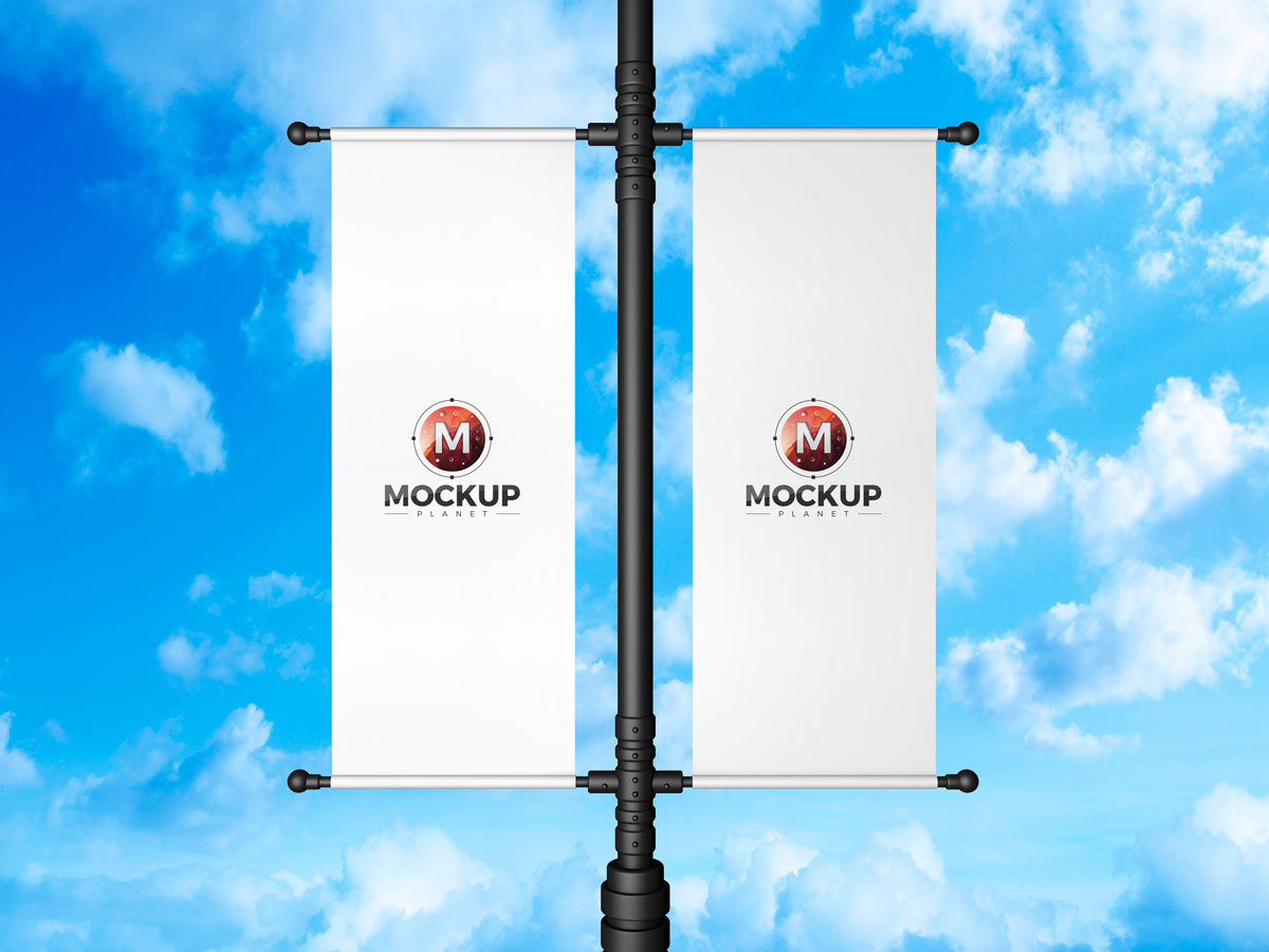 Free-Lamp-Post-Banner-Mockup-Design