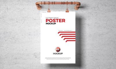 Free-Elite-Poster-Mockup-Design-For-Advertising