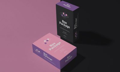 Free-Package-Box-Mockup-Design