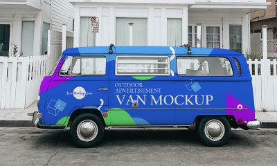 Free-Van-Mockup-Design-For-Outdoor-Advertisement